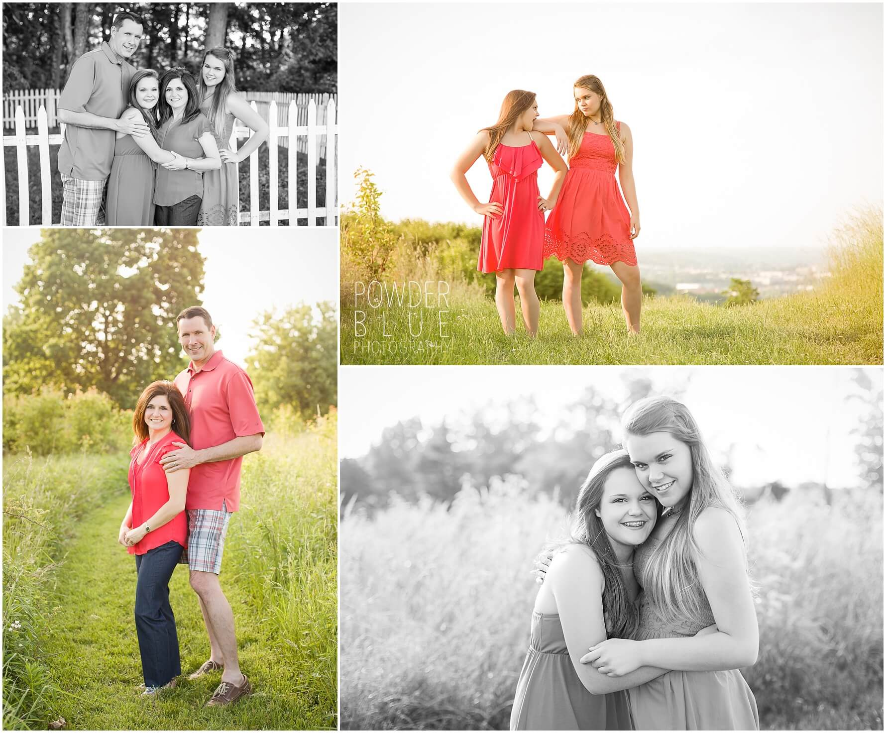 family portrait session in bridgeville pittsburgh pa Park