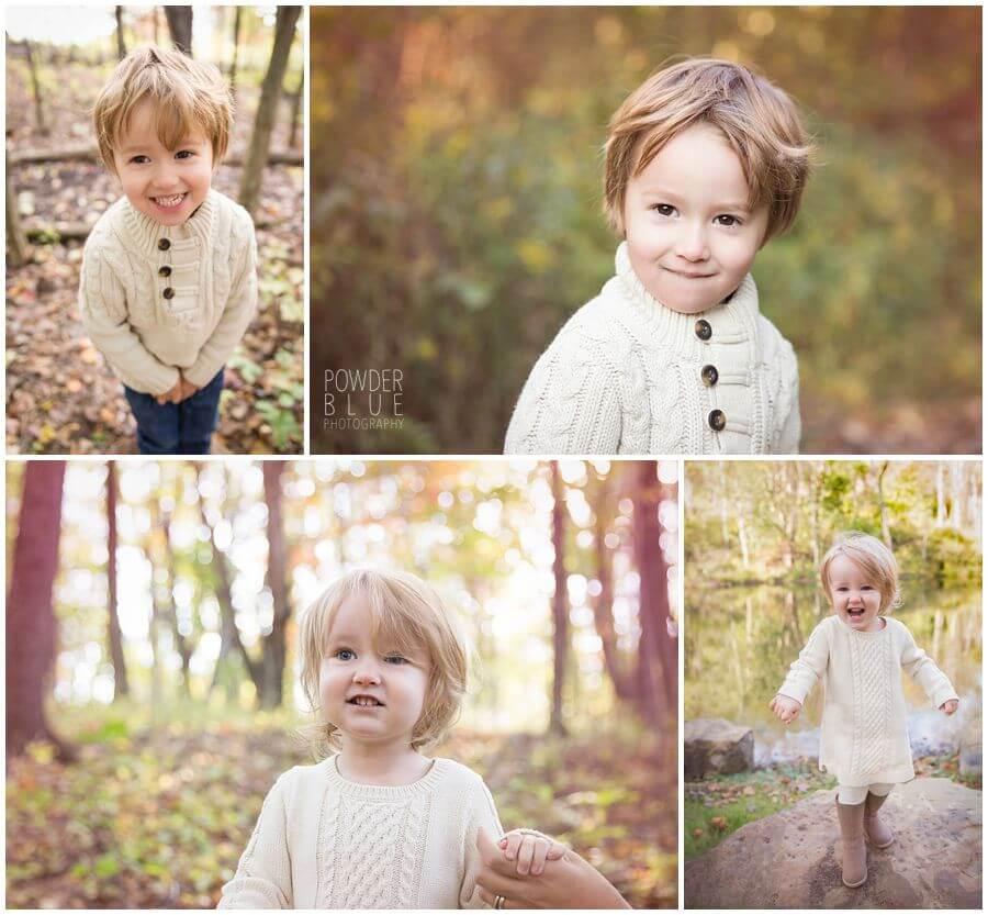 pittsburgh boranic garden family portrait session