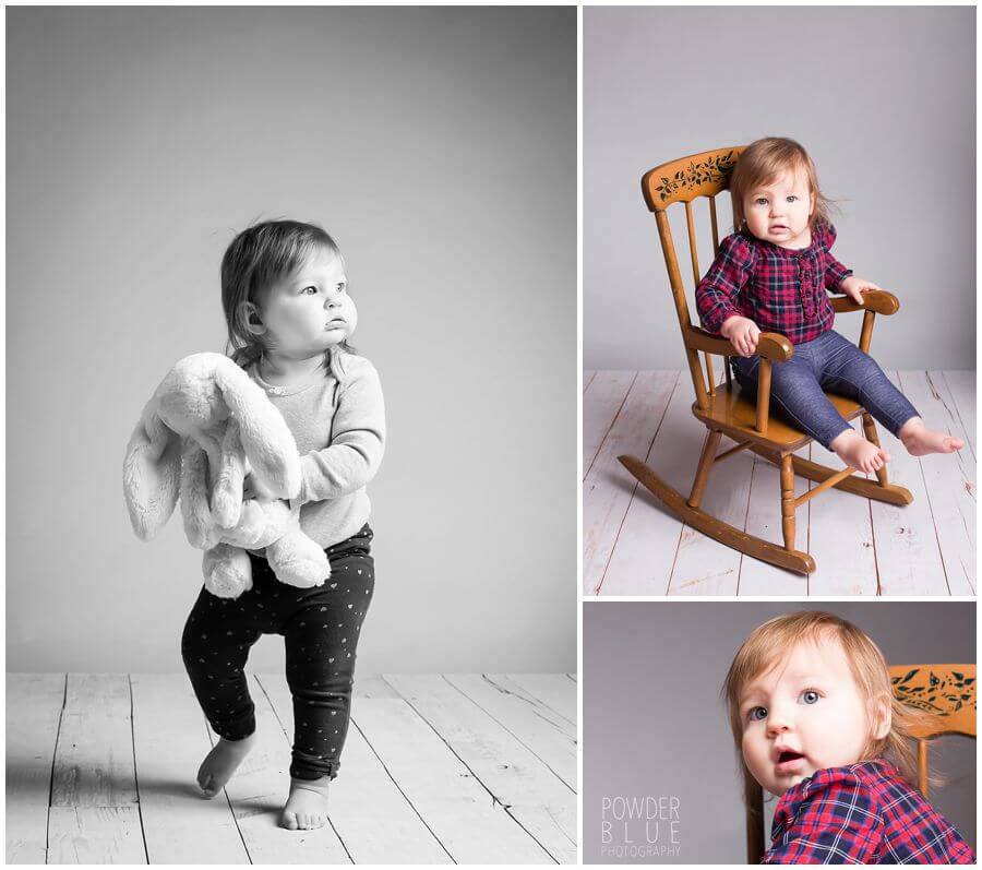 12 month baby session first birthday studio portrait pittsburgh