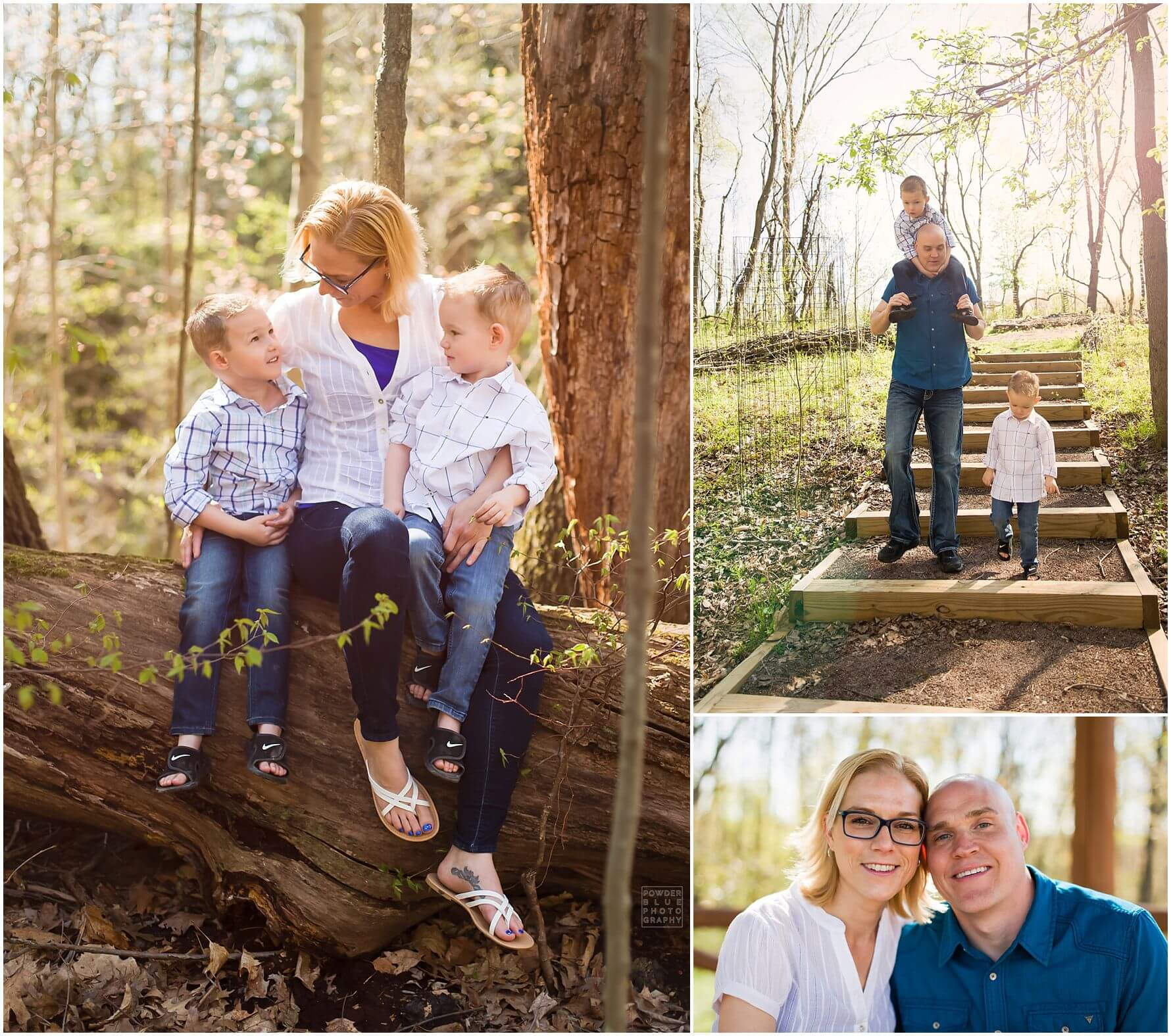 pittsburgh family photographer Pittsburgh Botanic Garden Portrait Session spring two boys 22q