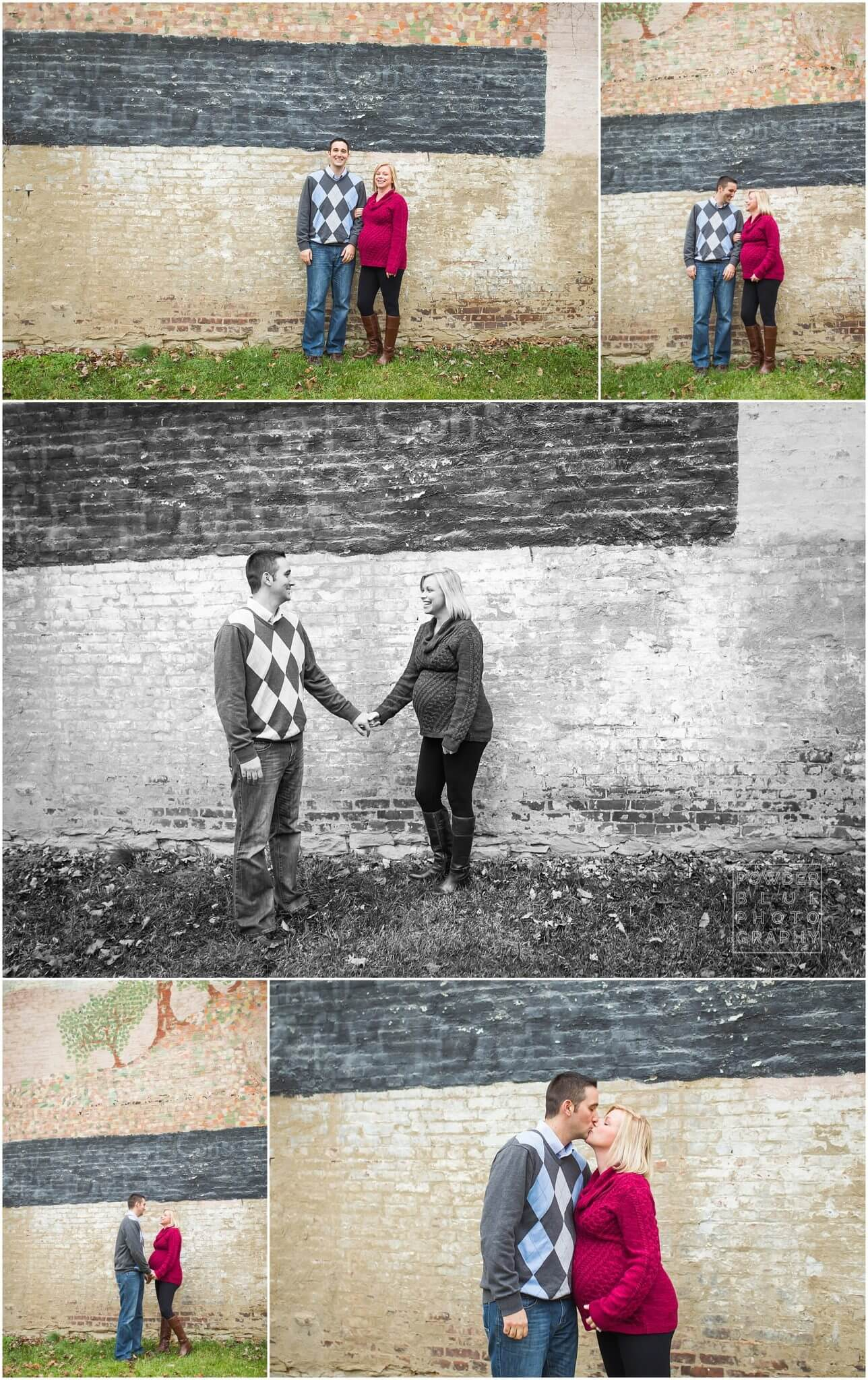 pittsburgh maternity photographer missy timko from powder blue photography shot these twin pregnancy maternity session images. pittsburgh maternity photographer powder blue photography.