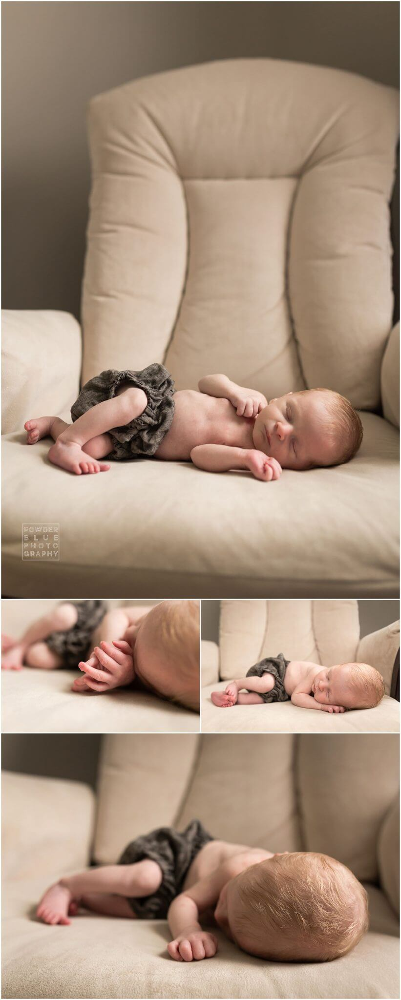 newborn abby boy on glider. pittsburgh newborn photographer, lifestyle newborn session in pittsburgh . baby boy in nautical themed nursery,