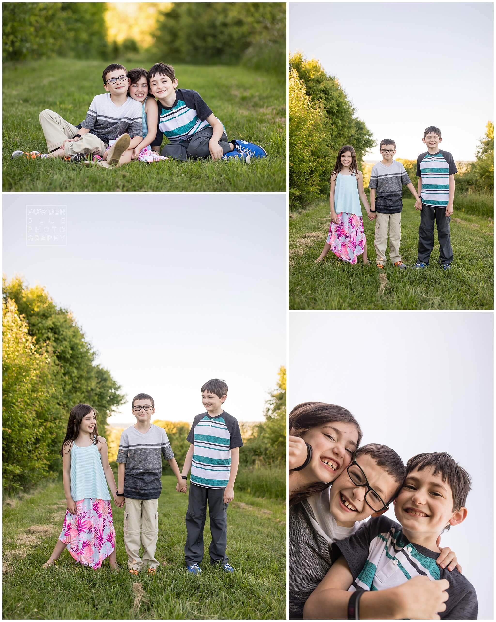 pittsburgh family portrait 70-200 canon lens at f4. child tween portrait at nature park .